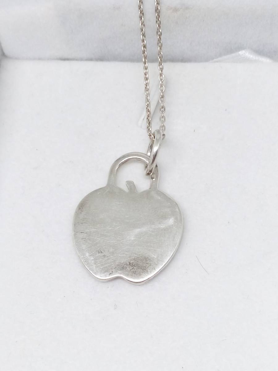 Tiffany&Co.(ティファニー) ネックレス アップル りんご シルバー(SV925)_画像3