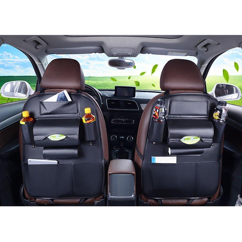 車用★後部座席に収納を増やすポケット付きシート★収納バッグ★大容量車内整理整頓カーシート新品