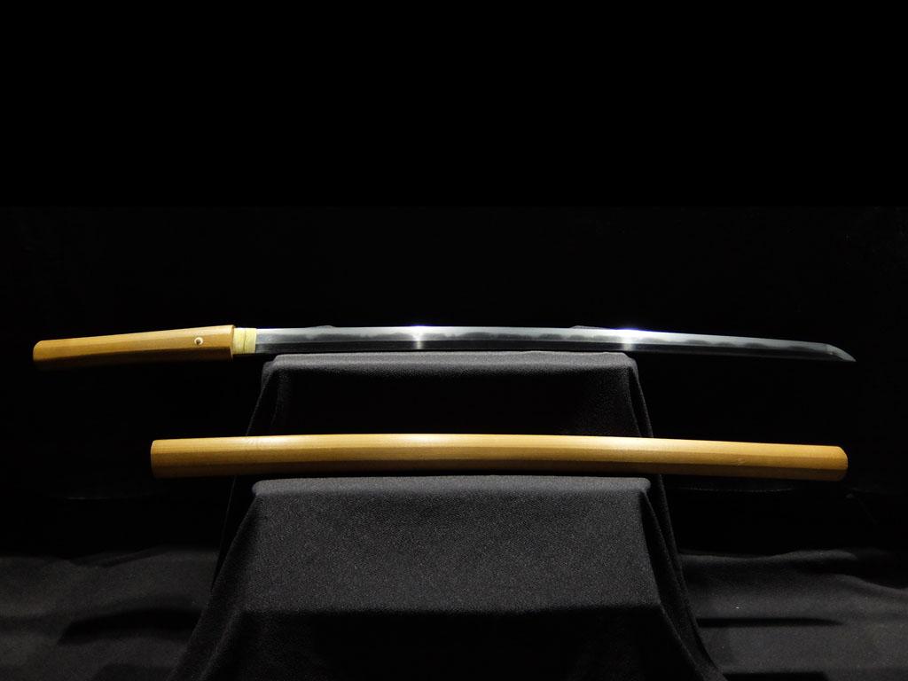 大阪 新刀期の巨匠「井上真改」門人 「八幡北窓治国造」在銘年紀入 井上真改の作と見分け