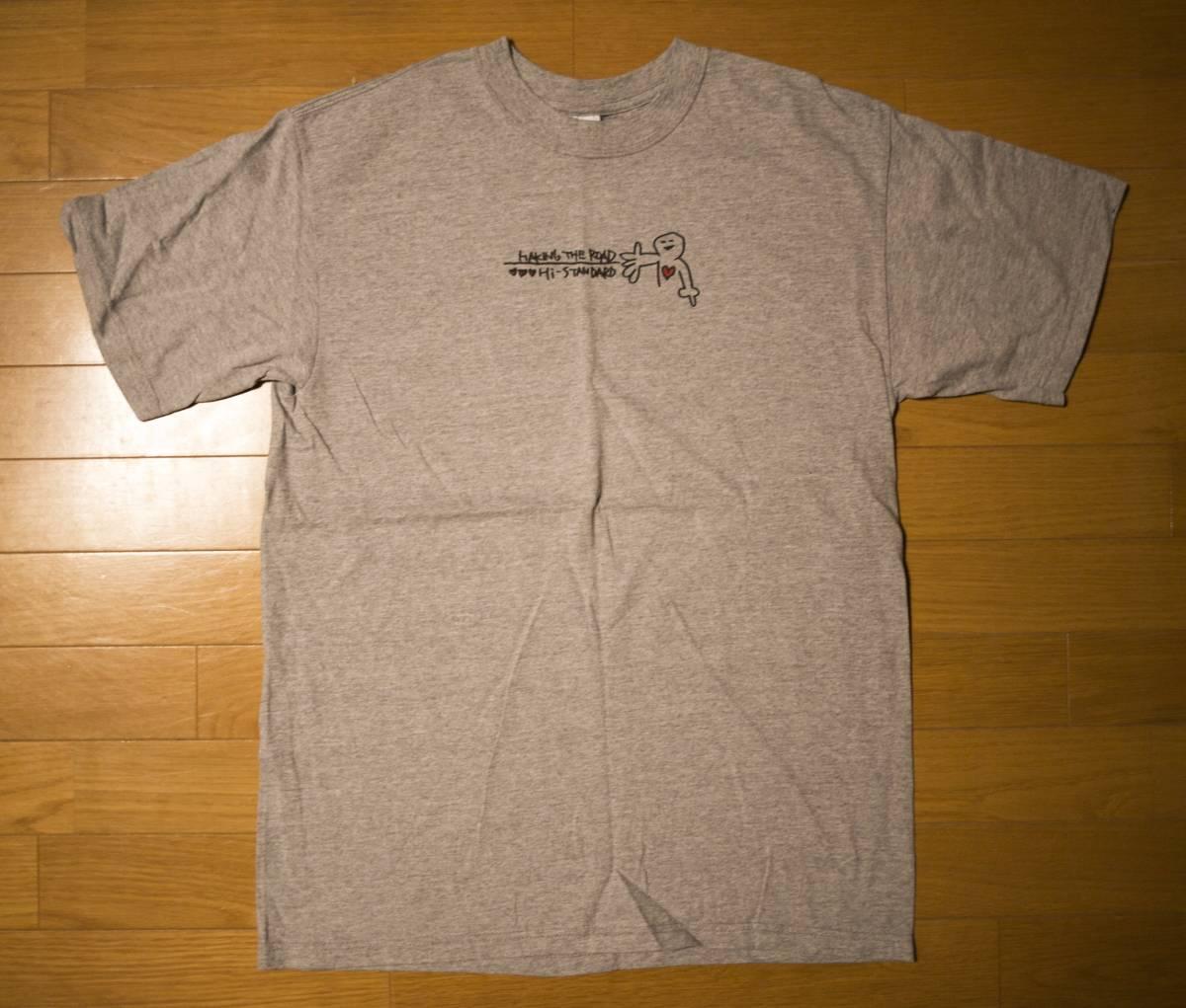 Hi-STANDARD ハイスタンダード MAKING THE ROAD Tシャツ Lサイズ 90年代 未使用 ライブグッズの画像