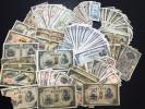 日本古紙幣藤原兌換券20円聖徳太子軍票など大量いろいろまとめ