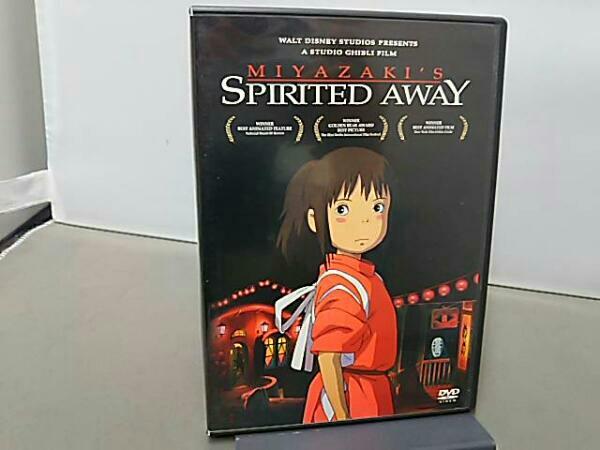 北米盤 千と千尋の神隠し SPIRITED AWAY DVD グッズの画像