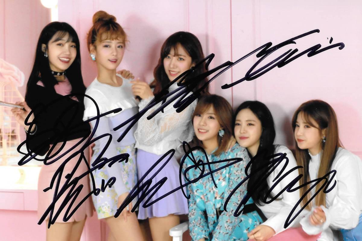 17.7★Apink★「Pink Up」 全員直筆サイン入り 公式生写真694