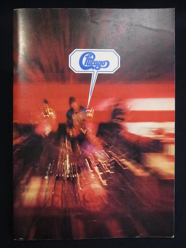 ■音楽パンフ06 シカゴ ロックエクスプロージョン'73■日本公演/消費税0円