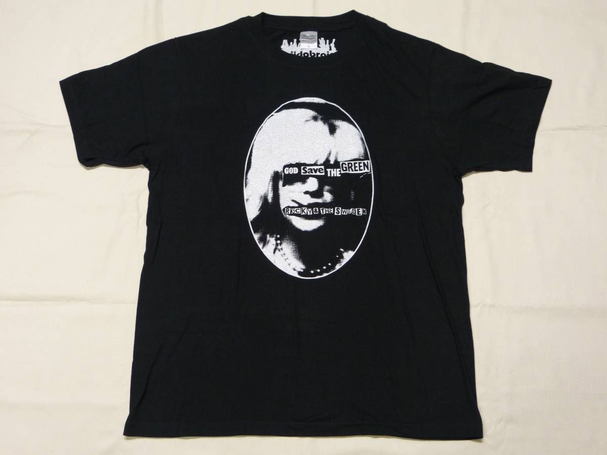 ROCKY AND THE SWEDEN Tシャツ 貴重 fuudobrain peel&lift blackmeans LIP CREAM GAUZE OUTO BASTARD JUDGEMENT DEATH SIDE DISCLOSE GISM