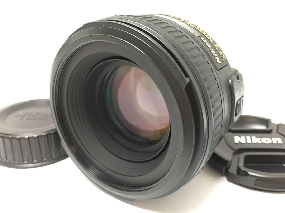 ★未使用・展示品!★Nikon 単焦点レンズ AF-S NIKKOR 50mm F1.4G★フルサイズ対応 !F1.4
