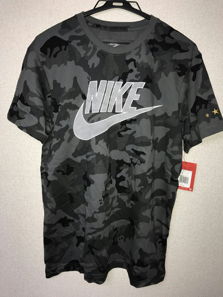 新品タグ付 浦和レッズ FIELD CAMO Tシャツ フィールド カモ カモフラ ブラック 黒 NIKE ナイキ 667434