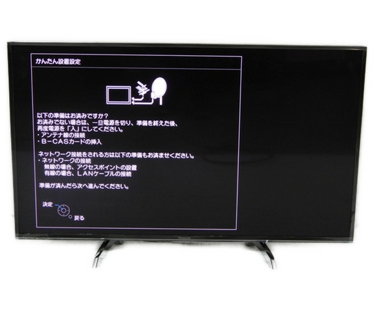 中古 良好 Panasonic VIERA TH-49DX750 液晶テレビ 4K 楽 Y2568538