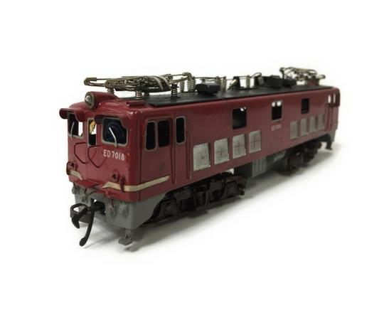 ジャンク 訳有 カツミ ED66 ED70 電気機関車 HOゲージ 2両セット 鉄道模型 T2595370_画像6