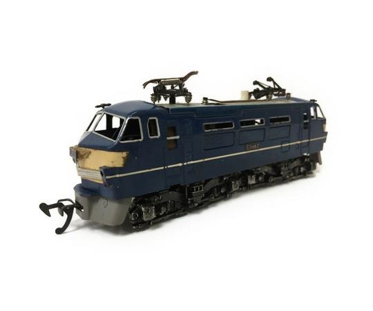 ジャンク 訳有 カツミ ED66 ED70 電気機関車 HOゲージ 2両セット 鉄道模型 T2595370_画像2