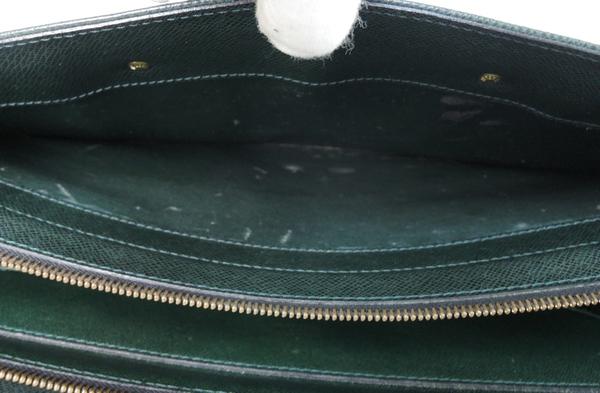 ルイ・ヴィトン LOUIS VUITTON タイガ M30052 ポルト ドキュマン・ロザン 書類鞄 Y2586738_画像9