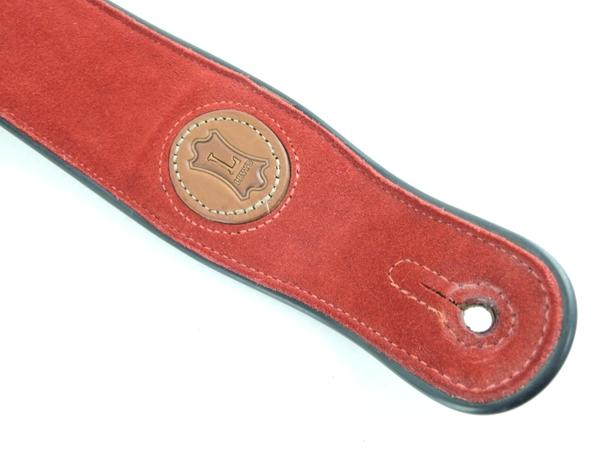 【1円】 LEVY'S レビース ギターストラップ M17SS RED O2538188_画像3