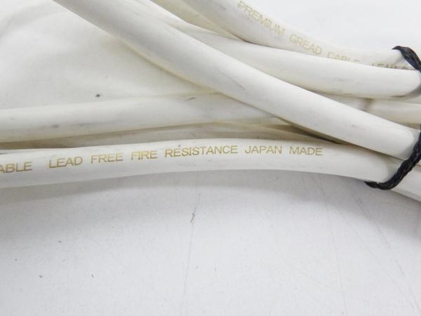 【1円】 中古 AET PRIMARY SP 075 スピーカー ケーブル PREMIUM GREAD CABLE 6本 セット F2542254_画像3