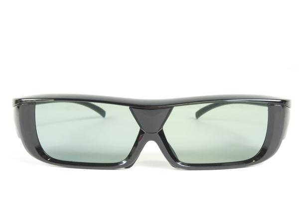 ジャンク SHARP シャープ AQUOS AN-3DG20-B 3Dメガネ ブラック K2536455_画像2