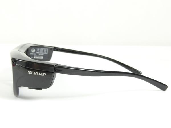 ジャンク SHARP シャープ AQUOS AN-3DG20-B 3Dメガネ ブラック K2536455_画像3