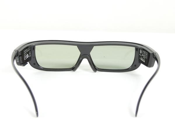 ジャンク SHARP シャープ AQUOS AN-3DG20-B 3Dメガネ ブラック K2536455_画像4