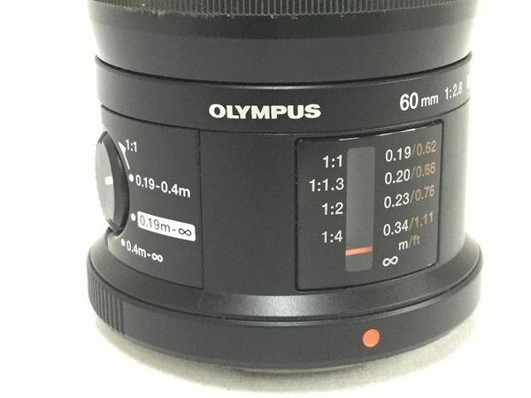 ジャンク OLYMPUS M.ZUIKO DIGITAL 60mm F2.8 MACRO ED MSC カメラ 一眼 レンズ T2588547_画像5
