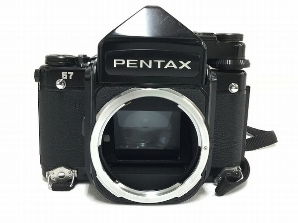 ジャンク PENTAX 67 TTL ファインダー 中判カメラ 400mm レンズ付き 中古 カメラ T2588542_画像2