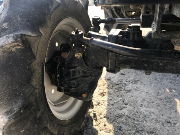 大阪府発 中古 イセキ TM17 トラクター 自動水平 PTO 4WD シート良好 安全バー アタッチメント ロータリー 付 604h 乗用 直K2544115_画像6