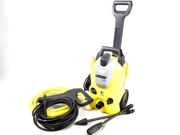 中古 ケルヒャー K3 SILENT 高圧洗浄機 洗車 お掃除 清掃 自宅 生活 K2573304