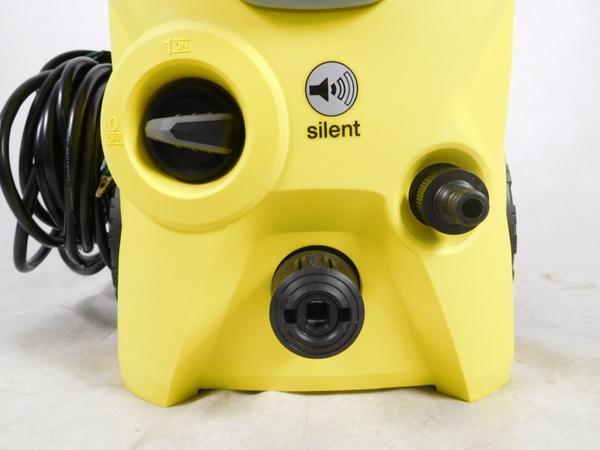 中古 ケルヒャー K3 SILENT 高圧洗浄機 洗車 お掃除 清掃 自宅 生活 K2573304_画像3