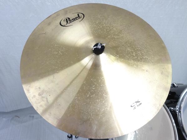 中古 Pearl FORUM SERIES ドラム セット 打楽器 チェア 譜面台 ケース付き パール 直N2564184_画像4