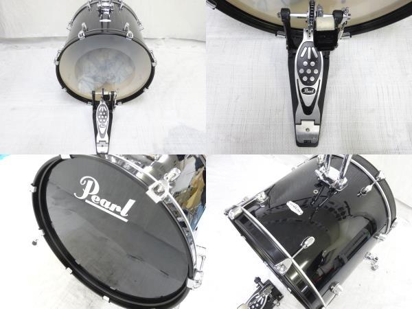 中古 Pearl FORUM SERIES ドラム セット 打楽器 チェア 譜面台 ケース付き パール 直N2564184_画像8