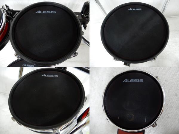 中古 Alesis Crimson Mesh Kit 電子 ドラム 楽器 電ドラ Y2591550_画像4