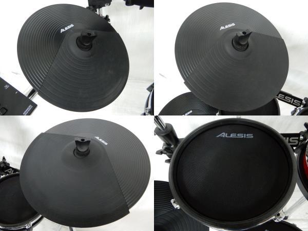 中古 Alesis Crimson Mesh Kit 電子 ドラム 楽器 電ドラ Y2591550_画像3