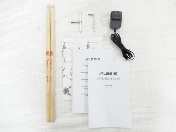 中古 Alesis Crimson Mesh Kit 電子 ドラム 楽器 電ドラ Y2591550_画像8