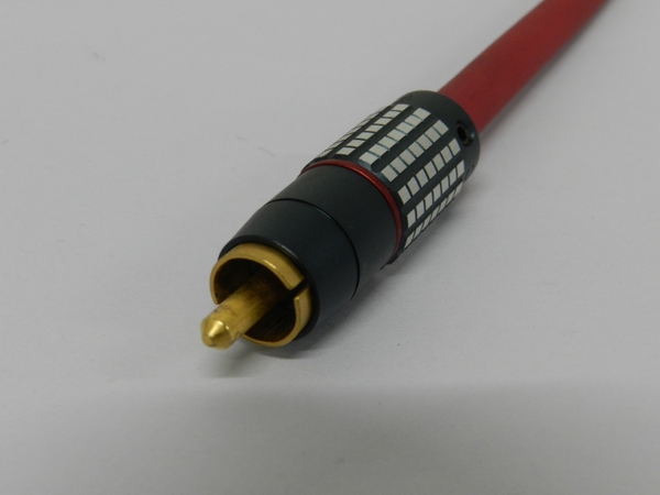 【1円】 中古 Audio Tecnica ALL PCOCC AUDIO CABLE 1m ペア F2458858_画像3