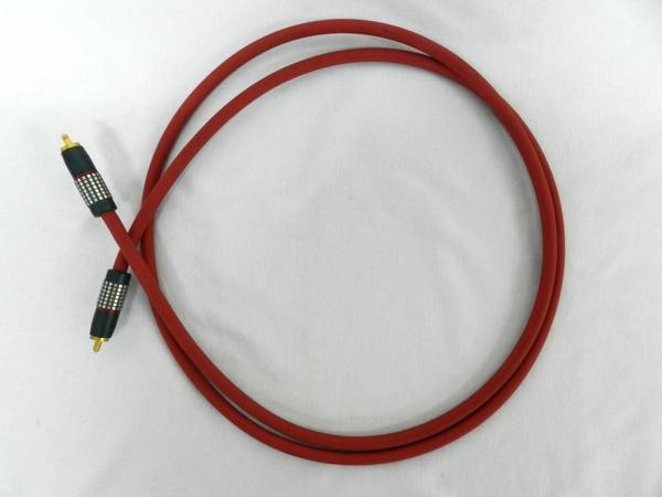 【1円】 中古 Audio Tecnica ALL PCOCC AUDIO CABLE 1m ペア F2458858_画像2