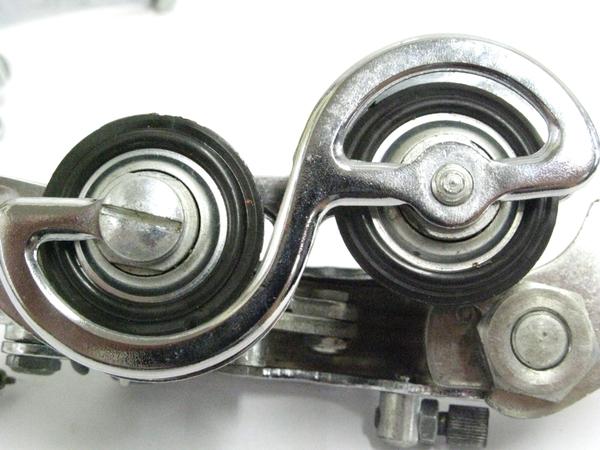 中古 実使用なし ユーレー アルビー コンポーネント リア フロント ディレイラー レバー 3点セット ロードバイク パーツ T2507201_画像5