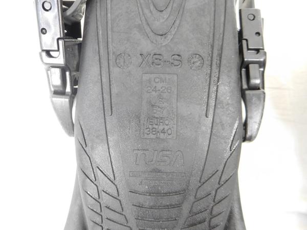 【1円】 中古 TUSA XS-S X-PERTZOOMZ3 フィンキック M2523450_画像3