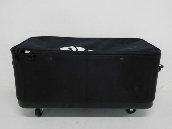 【1円】 中古 SAS 横型 キャリーバッグ キャスターバッグ 5輪 F2524555_画像10