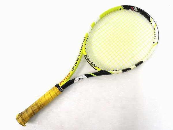 【1円】 中古 Baborat バボラ XS102 グラファイト イエロー テニスラケット スポーツ O2551704