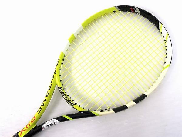 【1円】 中古 Baborat バボラ XS102 グラファイト イエロー テニスラケット スポーツ O2551704_画像2