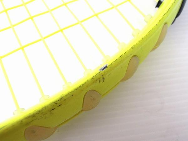 【1円】 中古 Baborat バボラ XS102 グラファイト イエロー テニスラケット スポーツ O2551704_画像6