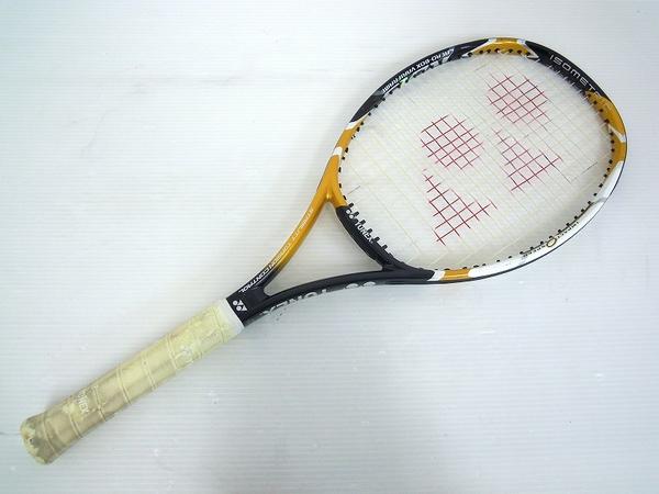 【1円】 中古 訳あり YONEX ヨネックステニスラケット RDiS200 金 黒色 O2558610