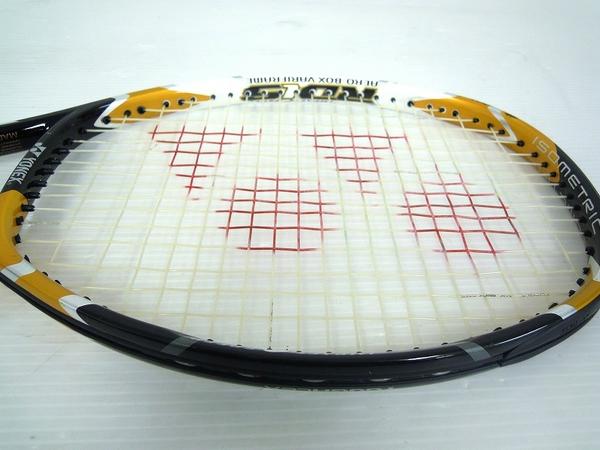 【1円】 中古 訳あり YONEX ヨネックステニスラケット RDiS200 金 黒色 O2558610_画像2
