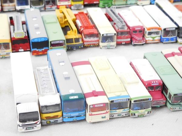 ジャンク TOMYTEC KYOSHO 京商 バス 大量 セット おまけ 消防車 トラック 他 K2594228_画像4