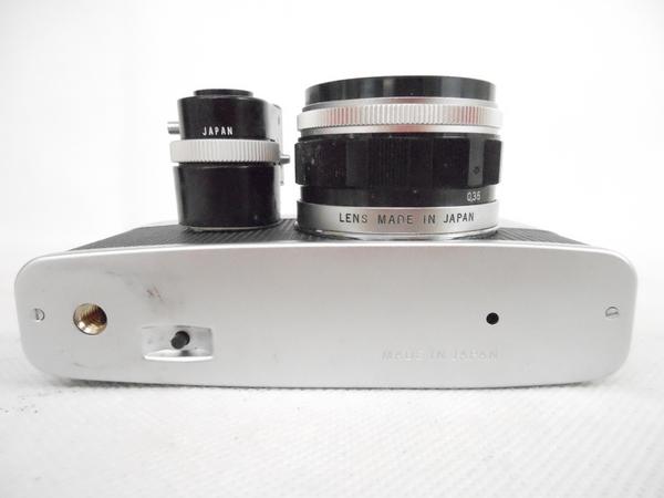 ジャンク OLYMPUS PEN-F D.Zuiko 1:2.8 38mm カメラ ボディ レンズ N2592468_画像10