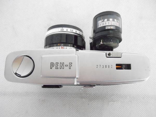 ジャンク OLYMPUS PEN-F D.Zuiko 1:2.8 38mm カメラ ボディ レンズ N2592468_画像5