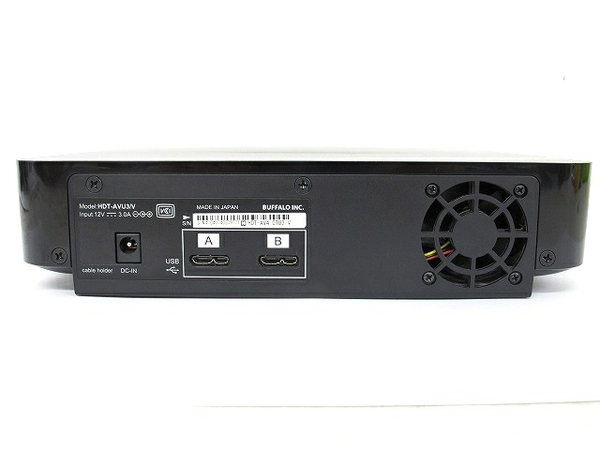 中古 BUFFALO HDT-AVU3/V HDT-AV4.0TU3/V 外付け ハードディスク HDD 4TB T2574094_画像4