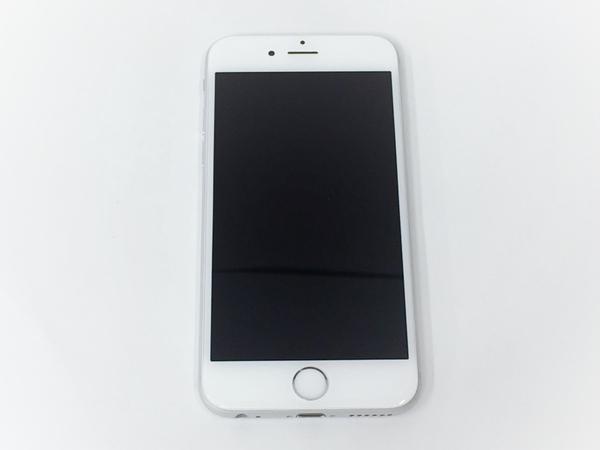 中古 Apple iPhone 6 MG482J/A 16GB au シルバー 4.7型 スマートフォン T2575737