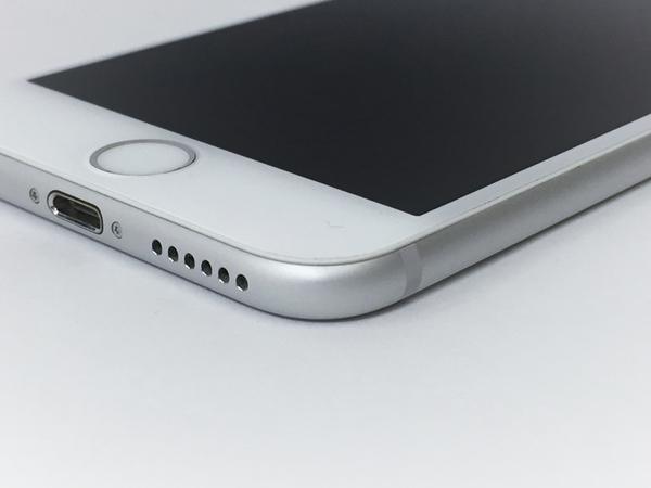 中古 Apple iPhone 6 MG482J/A 16GB au シルバー 4.7型 スマートフォン T2575737_画像2