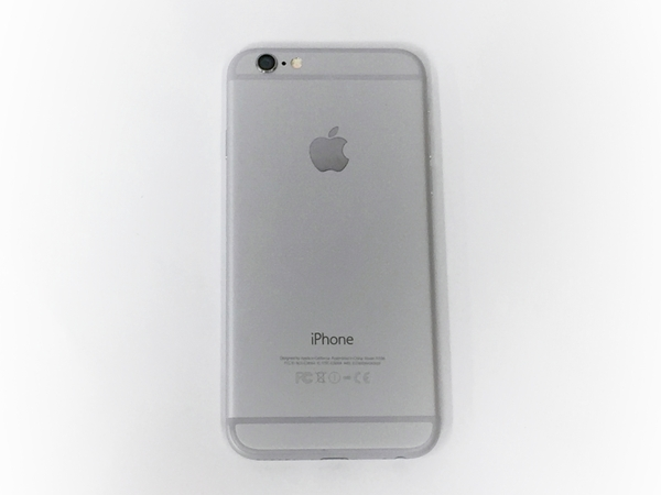 中古 Apple iPhone 6 MG482J/A 16GB au シルバー 4.7型 スマートフォン T2575737_画像6