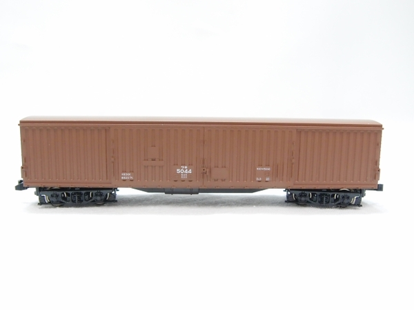 中古 KATO 8010 ワキ5500 貨車 10両 セット 鉄道模型 S2588214_画像2