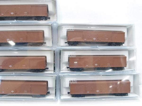 中古 KATO 8010 ワキ5500 貨車 10両 セット 鉄道模型 S2588214_画像5