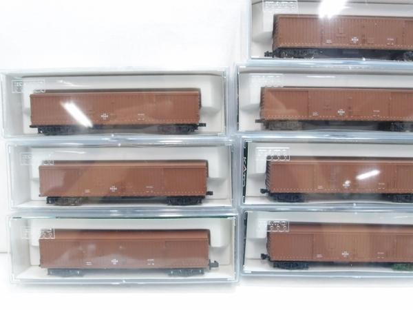 中古 KATO 8010 ワキ5500 貨車 10両 セット 鉄道模型 S2588214_画像4
